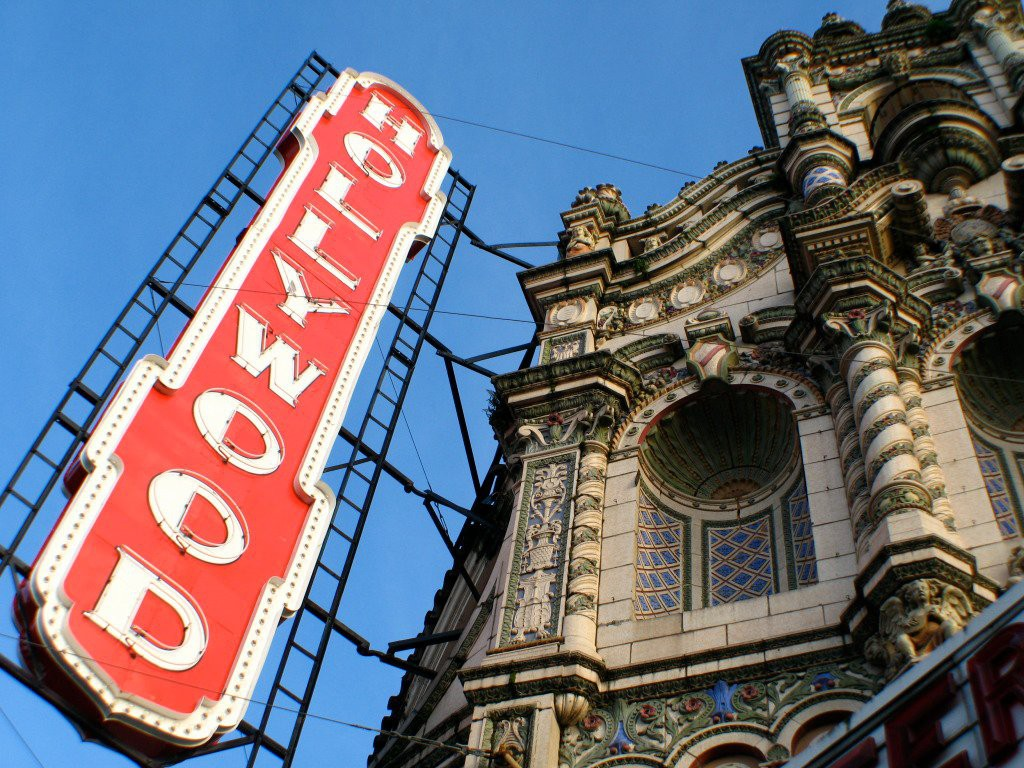 PDX is partnering with Portland's non-profit Hollywood Theatre to bring travelers more local flavor!
